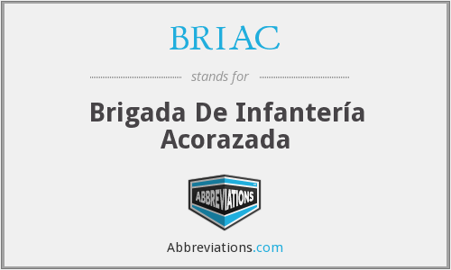 What does BRIAC stand for?