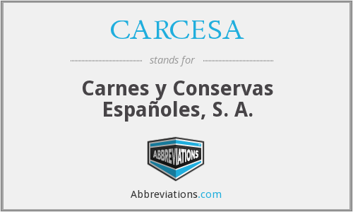 What does CARCESA stand for?