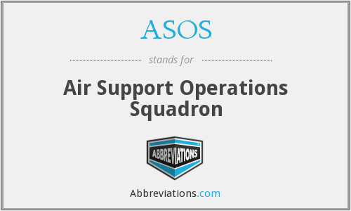 ASOS - Air Support Operations Squadron