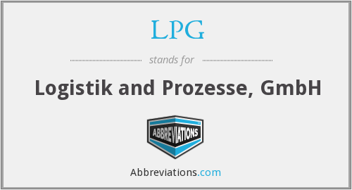 LPG - Logistik and Prozesse, GmbH