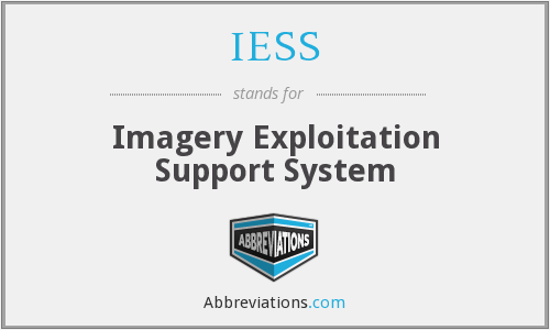 IESS - Imagery Exploitation Support System