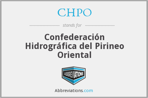 What does CHPO stand for?