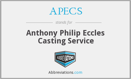 APECS - Anthony Philip Eccles Casting Service