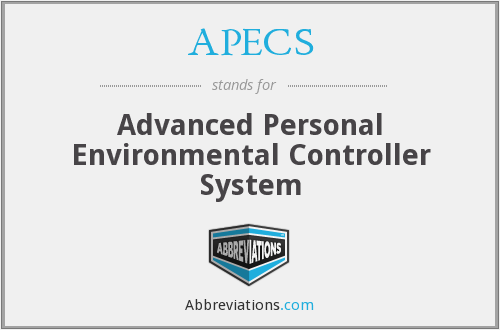 APECS - Advanced Personal Environmental Controller System