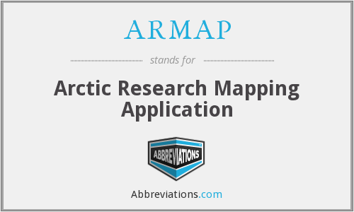 What does ARMAP stand for?