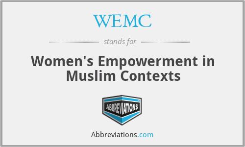 WEMC - Women's Empowerment in Muslim Contexts