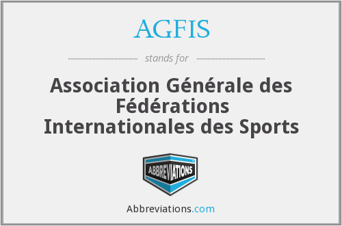 What does AGFIS stand for?