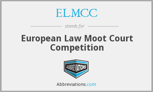 ELMCC - European Law Moot Court Competition