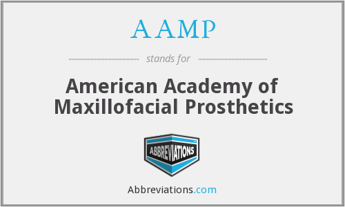 AAMP - American Academy of Maxillofacial Prosthetics