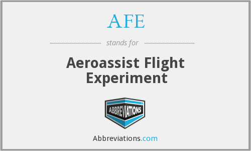 AFE - Aeroassist Flight Experiment