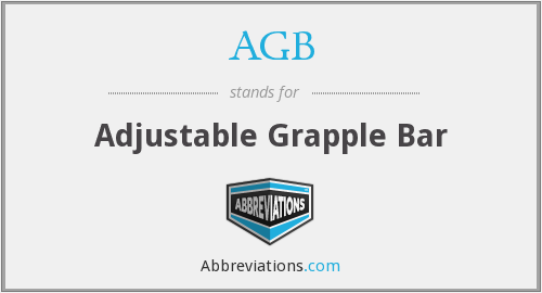 AGB - Adjustable Grapple Bar