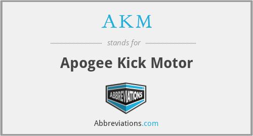 AKM - Apogee Kick Motor