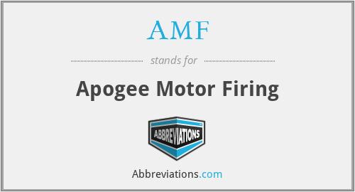 AMF - Apogee Motor Firing
