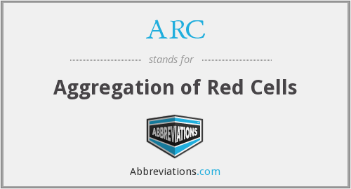 ARC - Aggregation of Red Cells