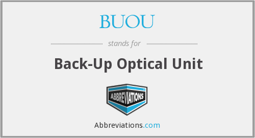 What does BUOU stand for?