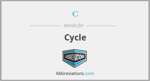 c - Cycle
