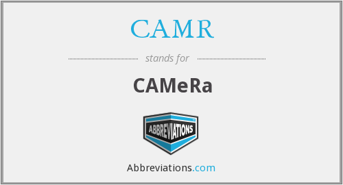 What does CAMR stand for?