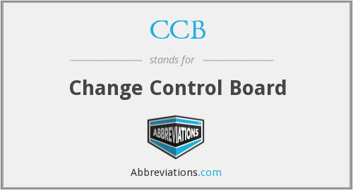 CCB - Change Control Board
