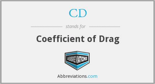 CD - Coefficient of Drag