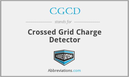 CGCD - Crossed Grid Charge Detector