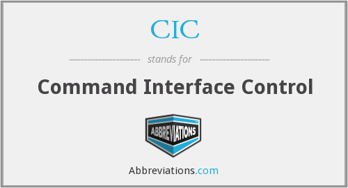 CIC - Command Interface Control