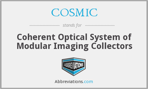 COSMIC - Coherent Optical System of Modular Imaging Collectors