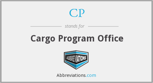 CP - Cargo Program Office