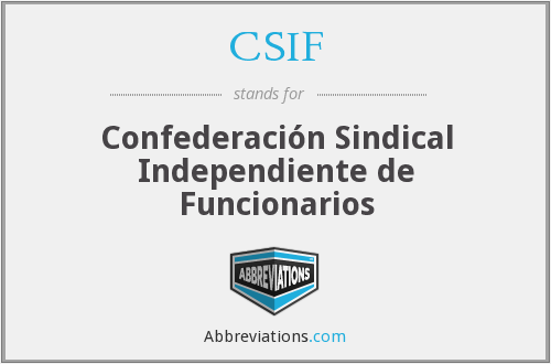 What does CSIF stand for?