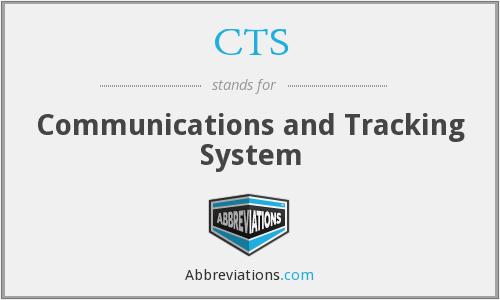 CTS - Communications and Tracking System