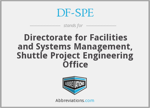 What does DF-SPE stand for?