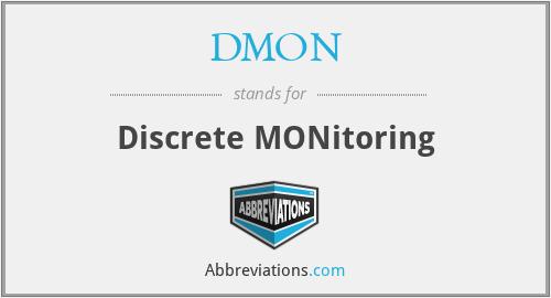DMON - Discrete MONitoring