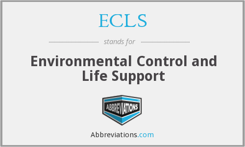 ECLS - Environmental Control and Life Support