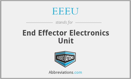 EEEU - End Effector Electronics Unit