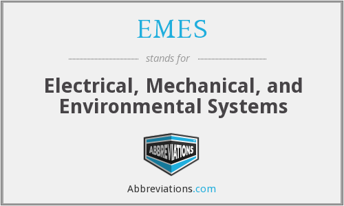 What does EMES stand for?
