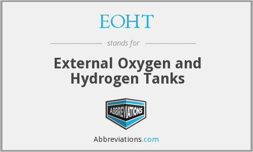 EOHT - External Oxygen and Hydrogen Tanks