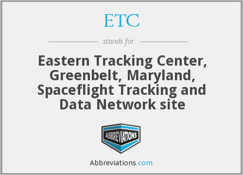ETC - Eastern Tracking Center, Greenbelt, Maryland, Spaceflight Tracking and Data Network site