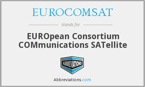 What does EUROCOMSAT stand for?