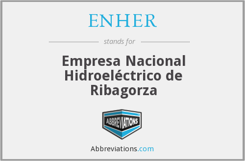 What does ENHER stand for?