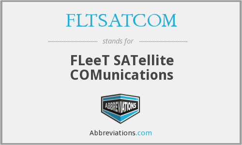 FLTSATCOM - FLeeT SATellite COMunications