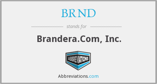 What does BRND stand for?