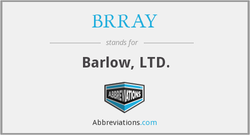 What does BRRAY stand for?