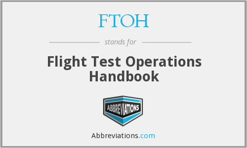 FTOH - Flight Test Operations Handbook