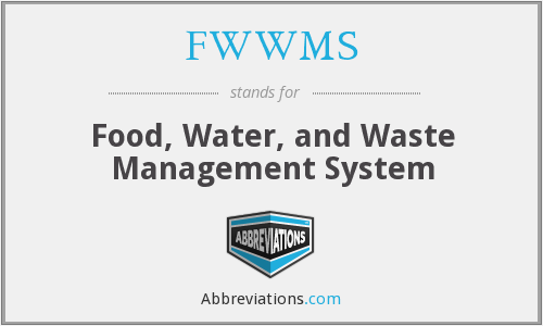FWWMS - Food, Water, and Waste Management System