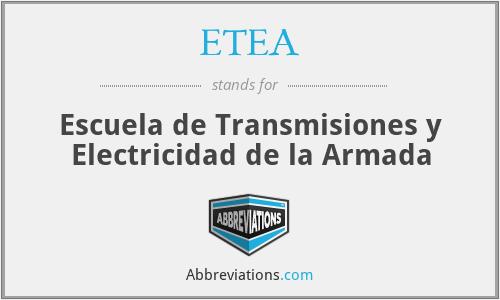 ETEA - Escuela de Transmisiones y Electricidad de la Armada