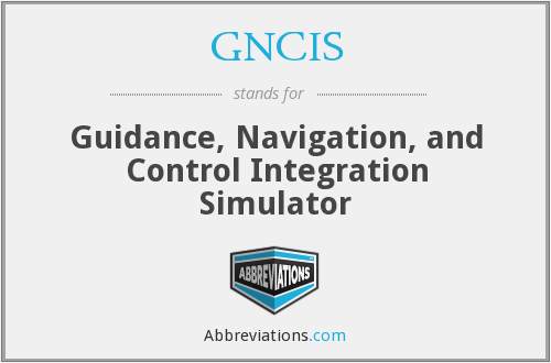 What does GNCIS stand for?