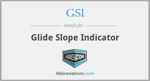 GSI - Glide Slope Indicator