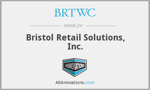What does BRTWC stand for?
