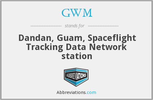 GWM - Dandan, Guam, Spaceflight Tracking Data Network station