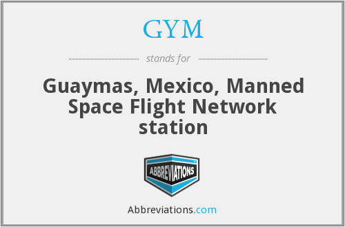 GYM - Guaymas, Mexico, Manned Space Flight Network station