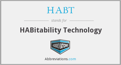 What does HABT stand for?